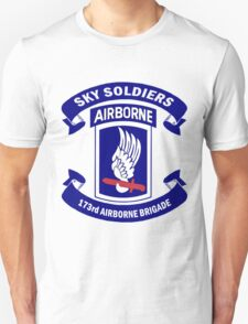 Insignia of the 173rd Special Forces Airborne Brigade! T-Shirt