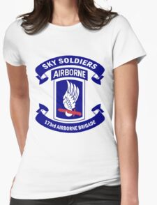 Insignia of the 173rd Special Forces Airborne Brigade! Womens Fitted T-Shirt