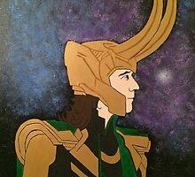 Loki Painting by taylormorrill