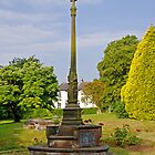 War Memorial in St Mary's Churchyard Tutbury by Rod Johnson