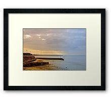 Sunny Interlude on Ryde Esplanade Framed Print