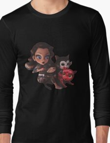 drawings for cats Long Sleeve T-Shirt