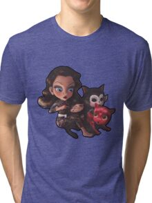 drawings for cats Tri-blend T-Shirt