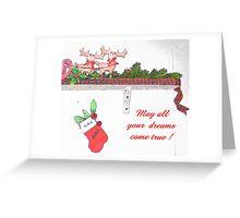 Christmas Dreams Greeting Card