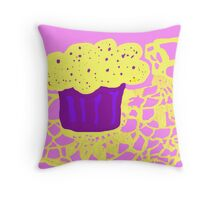 Cupcake wishes Throw Pillow