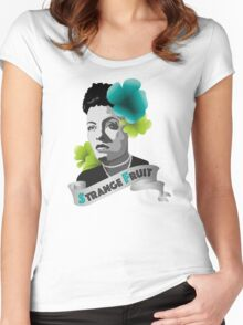 Billie Holiday Women's Fitted Scoop T-Shirt