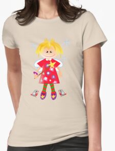 Cute angel with robins T-Shirt