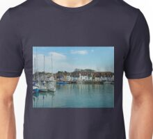 Weymouth  Harbour March 9th 2010 , Dorset Unisex T-Shirt