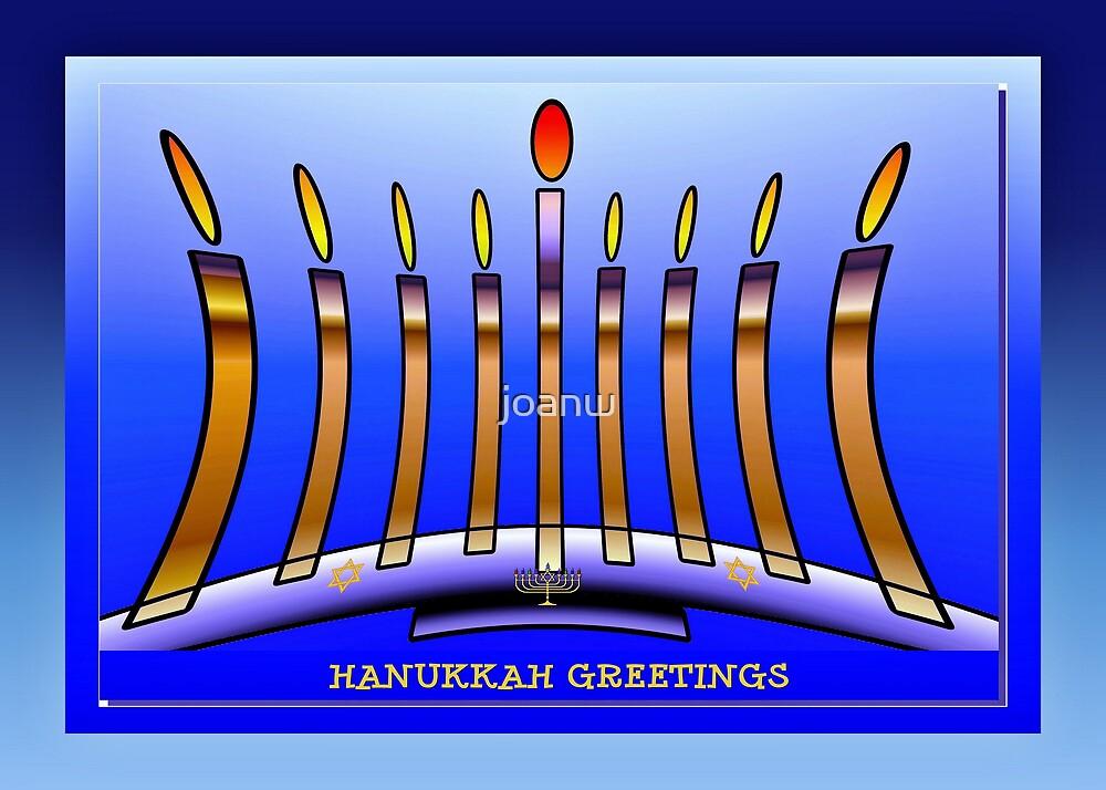 Hanukkah by joanw