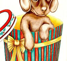 Oh heck! The night before Christmas, and I just heard Freddy ask Santa for a PS3! by Margaret Sanderson
