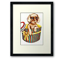 Oh heck! The night before Christmas, and I just heard Freddy ask Santa for a PS3! Framed Print