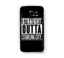 Straight Outta Starling City Samsung Galaxy Case/Skin