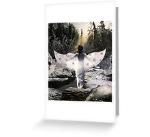 Winter Goddess Greeting Card