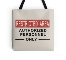 Team Fortress 2 - Restricted Area Tote Bag