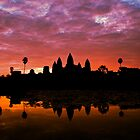 Sunrise Over Angkor Wat by David Henderson