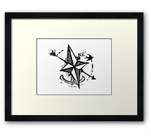 Sailing NorthEast Framed Print