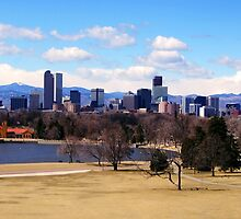 Downtown Denver in March by dotstarstudios