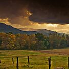 Clouds Over Cades Cove by Phillip M. Burrow