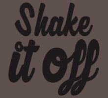 Shake it Off (bw) One Piece - Short Sleeve