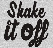 Shake it Off (bw) Kids Tee