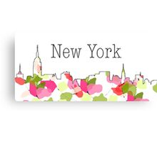 New York 2 Canvas Print