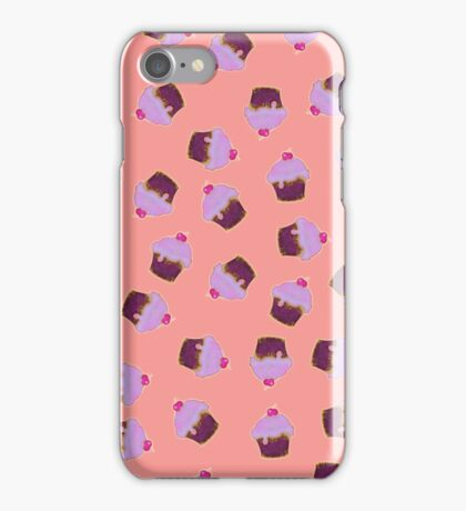 multi pink iced cupcakes iPhone Case/Skin