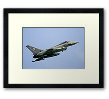 The Typhoon  Framed Print