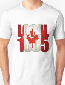 Local 1005 Canada Flag T-Shirt
