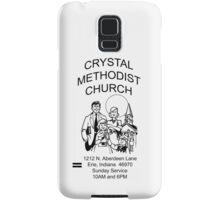 Crystal Meth-odist Church Samsung Galaxy Case/Skin