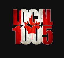 Local 1005 Canada Flag (Black) Unisex T-Shirt