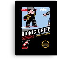 Bionic Griff Canvas Print
