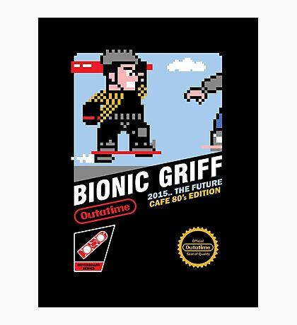 Bionic Griff Photographic Print