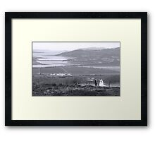 Gaelic Wedding -Donegal Framed Print