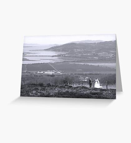 Gaelic Wedding -Donegal Greeting Card