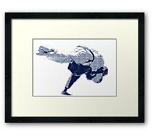 Judo Throw in Gi 2 Framed Print