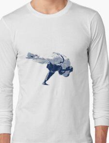 Judo Throw in Gi 2 Long Sleeve T-Shirt