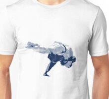 Judo Throw in Gi 2 Unisex T-Shirt