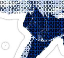 Judo Throw in Gi 2 Sticker