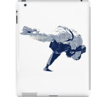 Judo Throw in Gi 2 iPad Case/Skin