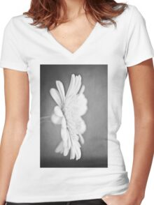 Your Secret's Safe With Me (mono) Women's Fitted V-Neck T-Shirt