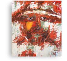 Abstract Sancho Canvas Print