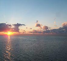 stiltsville Sunrise by nancy dixon