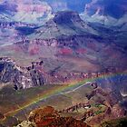 Arizona, Grand Canyon&#x27;s rainbow by Meeli Sonn