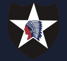 Logo of the Second Infantry Division, U. S. Army Kids Tee
