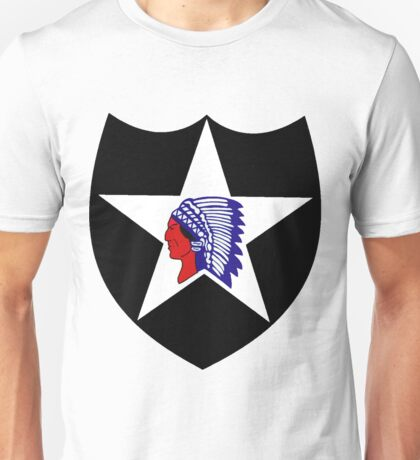 Logo of the Second Infantry Division, U. S. Army Unisex T-Shirt