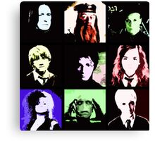 Harry Potter Andy Warhol Pop Art Collection Canvas Print