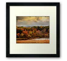 Autumn painting Framed Print