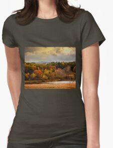 Autumn painting Womens Fitted T-Shirt