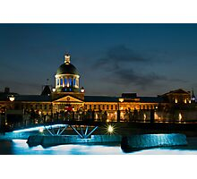 Marché Bonsecours - Old Montreal Photographic Print