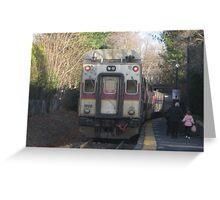 1700 MBTA Commuter Rail Greeting Card